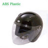 Jet type open face motorcycle helmet