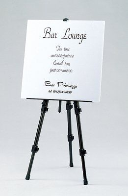 Make use of Easels when introducing an Event!