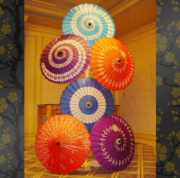 Renting Traditional Japanese Items For Your Event