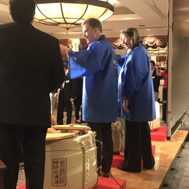 Opening ceremony and Celebrates party in Japan