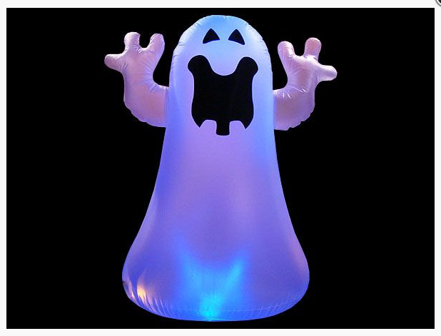 Make your House into a Scary Haunted House with this Inflatable Ghost Decoration!!!