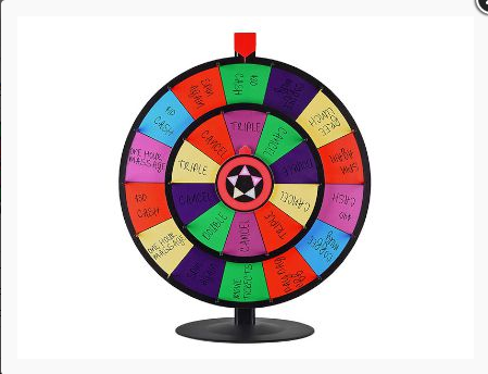 (English) Make your Event or Party more Fun with this Double Roulette!!!