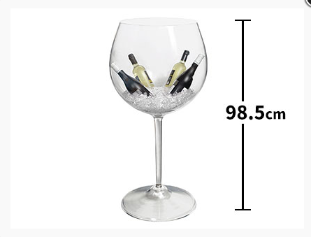 (English) Make Your Party Exciting with this Gigantic Wine Glass!!!