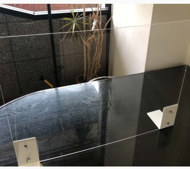 Keep your Customers and Employees Safe with this Clear Acrylic Panel During COVID-19!!!