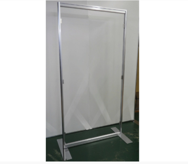 Follow Social Distancing with these Giant Transparent Panels at Work or at your Meetings!!!