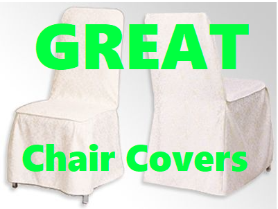 (English) Make your next Formal Get-Together more Fancy with these Chair Covers!!!