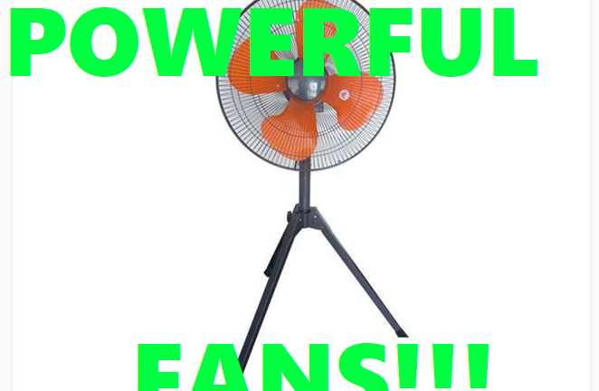 (English) Keep your Guests or Customers cool with these Powerful Factory Fans here at Event21!!!