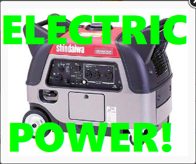 (English) Have Electricity Anywhere with this 2.8Kw Generator here at Event21!!!