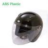 Jet type open face motorcycle helmet