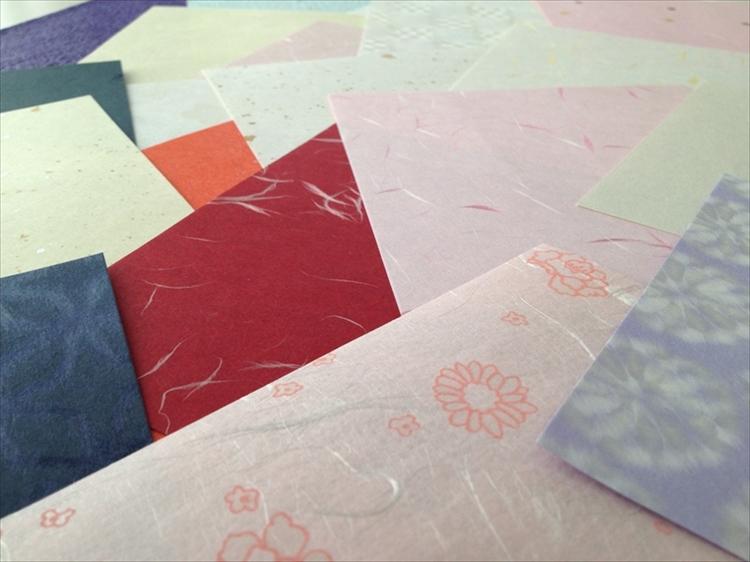 Echizen Washi Origami Paper Set(20 sheets) picture b