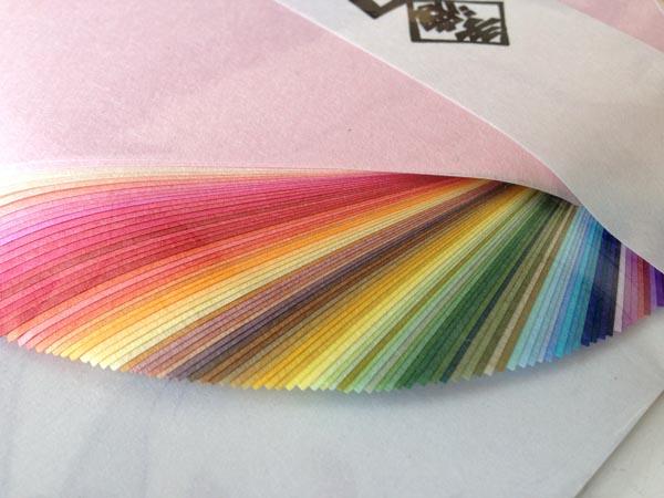 Washi origami pic e